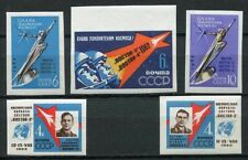 28642) RUSSIA 1962 MNH** Conquerors of space 5v. Imperforated