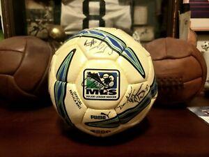 2005 PUMA MLS FC Dallas Team Autographed Soccer Ball Sz 5 (Season Ticket Gift)