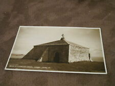 1950s Judges Dorset postcard -St Aldhelm's chapel - Nr Swanage