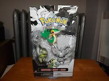 POKEMON 3 FIGURE SET, MINCCINO, SNIVY, AND AXEW FIGURES, NEW IN BOX, 2011