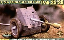 1/72 WWII German 3.7cm Pak.35/36 Anti-Tank Gun ACE72241 Models kits