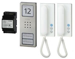 Siedle Sprechanlage Compact-Sets Wechselsprechanlage Audio 1-4 Teilnehmer CA 812