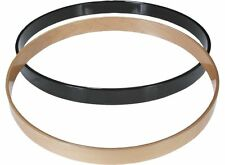 "Gibraltar SC22BK 22"" Wooden Replacement Maple Bass Drum Hoop, Black Finish"
