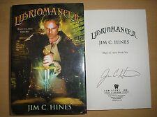 JIM C. HINES - LIBRIOMANCER  1st ED.  HB/DJ  2012  SIGNED