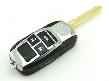 3 Buttons Remote Flip Folding Key Shell Case Cover For Toyota Corolla Camry 3BT