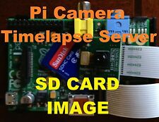 Raspberry Pi3 Timelapse Server SD Image Noobs for Pi Camera & File Network Share