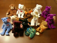 TY Beabie Baby collection 15 piece lot. with tags Valentino, Chocolate, Burgundy