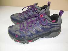 Merrell Women's Sz 9 MOAB Edege Hiking Shoes Plum Plumeria Purple Grey