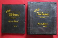 VINTAGE 1960'S C4B TREE FARMER LOGGING SKIDDER PARTS AND SERVICE MANUALS RARE!