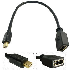 Mini DisplayPort DP Female to Display Port DP Male Cable Cord Lines For MacBook