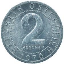 1976 / 2 GROSCHEN / AUSTRIA / OSTERREICH / COLLECTIBLE COIN   #WT29996