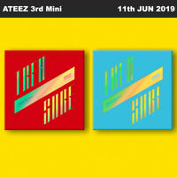 ATEEZ TREASURE EP.3 : One To All 3rd Mini Album CD+Photobook+Photocard+Etc