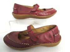 Hush Puppies 100% Leather Mary Janes Casual Flats for Women