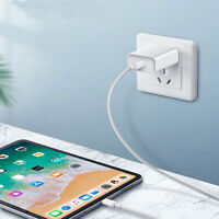 18W USB-C Rapide Chargeur Adaptateur pour iPhone 11 Pro X XR XS Max iPad Airpod