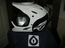 SixSixOne Comp Shifted Full Face MTB bike Helmet Medium-New