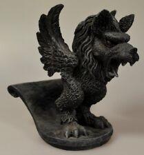 Gargoyle Figur Büste Handyhalter ca. 13cm hoch Torwächter in schwarz Werwolf