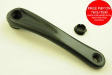 Vélo Manivelle Bras Alliage-Bras gauche remplacement 165 Mm//170 mm SQUARE Conique Noir