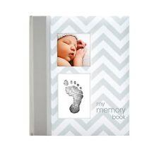 Pearhead-chevron grey babybook/Memory book