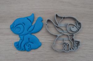 Lilo & Stitch Cookie Cutter Fondant Cutter