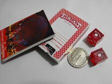 FREMONT CASINO Vintage Las Vegas Red Deck CARDS SLOT TOKEN BOOK DICE Matching #s