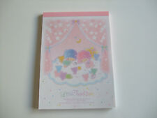 New!! Sanrio Little Twin Stars Kawaii Memo Pad Notepad/Type C