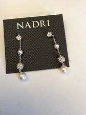 Nadri Pave Balls And Pearl Dos $75 #223