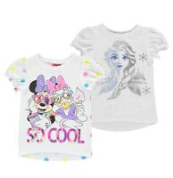 Girls Character Soft Regular Short Sleeve T Shirt Sizes Age from 2 to 10 Yrs