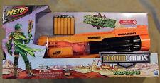 NERF Foam Dart Gun Doomlands Vagabond Blaster 6 Rapid Fire Shot Pump Action 2169