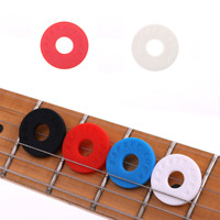 10Pcs Electric Guitar Saver Strap Lock Silica Gel Pad Guitar Strap Connector Hot