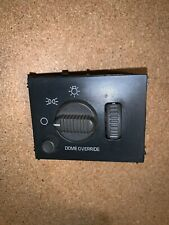 99-02 CHEVY SILVERADO GMC SIERRA PICKUP TRUCK HEADLIGHT SWITCH OEM