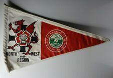 """British camping club North west region 1949  pennant 12"""""""
