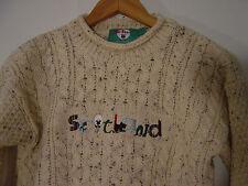 Mac Baaaa Sweater Kids Boys Girls Sz 7-8 Washable Wool Scottish Scotland New Tag