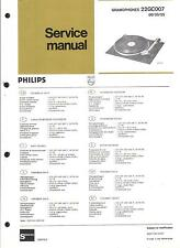 Philips Original Service Manual Phono 22 GC 007