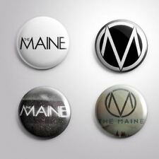 4 The Maine - Pinbacks Badge Button Pin 25mm 1''