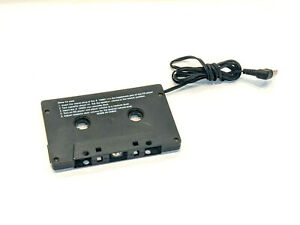 3.5mm Audio Cassette Tape Adapter Aux Cable Cord Jack for CD Player etc