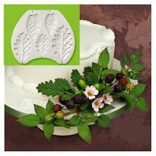 Fern Leaf Silicone Cake Decor Fondant Sugarcraft Mould Chocolate Baking Mold