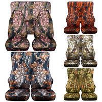 CC  YJ Jeep wrangler Front and Rear seat covers choice in camouflage plus others