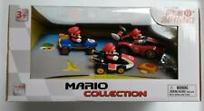 2019 Nintendo Mario Collection Pull Speed Kart Scale 1 43