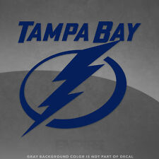 "Tampa Bay Lightning NHL Vinyl Decal Sticker - 4"" and Larger - 30+ Color Options!"