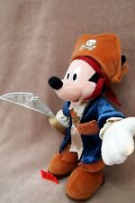 Peluche n°R001: MICKEY pirate 28cm  Disney