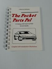 Pocket Parts Pal Ho Slot Car Identify Parts W/Part Numbers Vintage Aurora Tyco