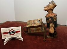 1930's Marx Popeye Baggage Express Tin Wind Up Toy