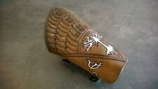 Hand Carved Leather Archery Bracer Aragorn LOTR Tree of Gondor, Arm Guard