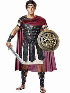 Roman Gladiator Greek Soldier Warrior Fancy Dress Up Halloween Adult Costume