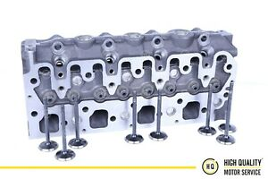 Cylinder Head with Valves For Perkins TPN400, HP400, 404