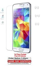 new CLEAR Screen Protector Cover Guards for Samsung Galaxy S5 1st class postage