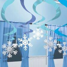 Decoración de pared de Navidad color principal azul