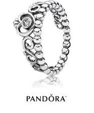New Authentic Pandora Princess Tiara Ring 190880CZ  S925 ALE + Gift Pouch