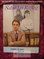 Saturday Review February 8 1969 JEAN-PIERRE LEAUD JOHN STEINBECK WALTER B. KERR