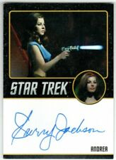 STAR TREK THE ORIGINAL SERIES 50TH ANNIVERSARY SHERRY JACKSON ANDREA AUTOGRAPH